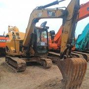 卡特307C小型挖掘机