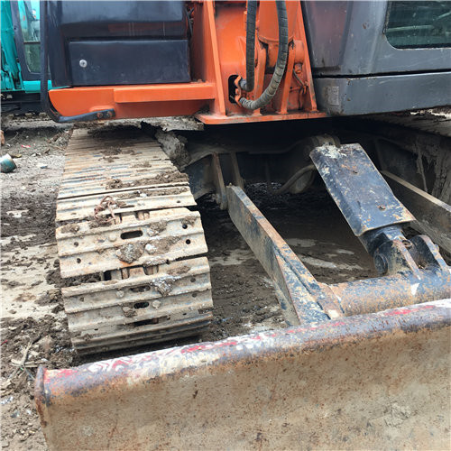 二手日立ZX60小型挖掘机推土铲
