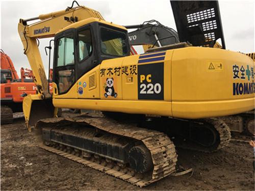 小松PC200-8中型二手挖掘机图片