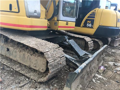 住友SH75进口二手小型挖掘机推土铲