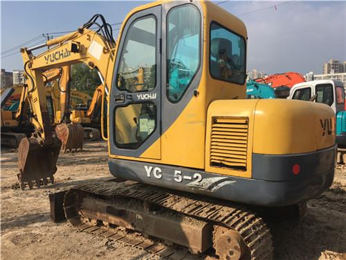 玉柴55-9二手小挖土机图片