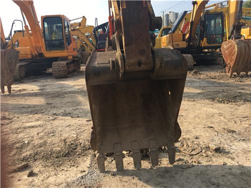 玉柴55-9二手小挖土机挖斗