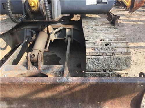 玉柴55-9二手小挖土机推土铲