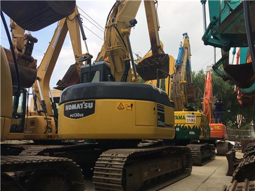 小松PC138US进口二手挖掘机图片