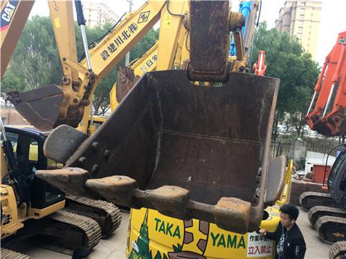 小松PC138US进口二手挖掘机挖斗