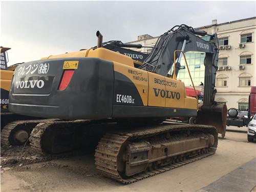 沃尔沃EC460大型二手挖掘机市场图片