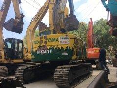 进口日立ZX135二手挖掘机