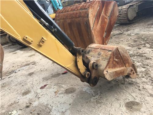 卡特303C二手挖掘機個人轉讓挖斗