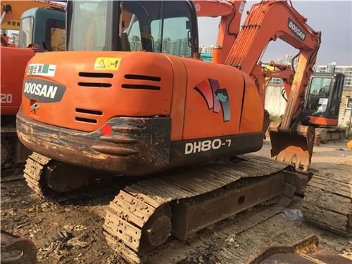 二手斗山DH80-7小型挖掘机转让图片