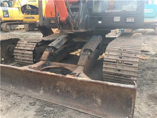 二手斗山DH80-7小型挖掘机转让推土铲