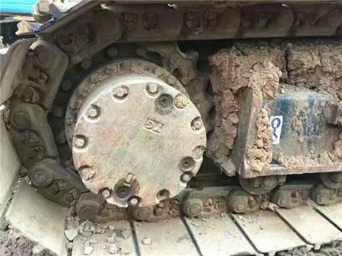 日立200-3G二手挖掘机履带