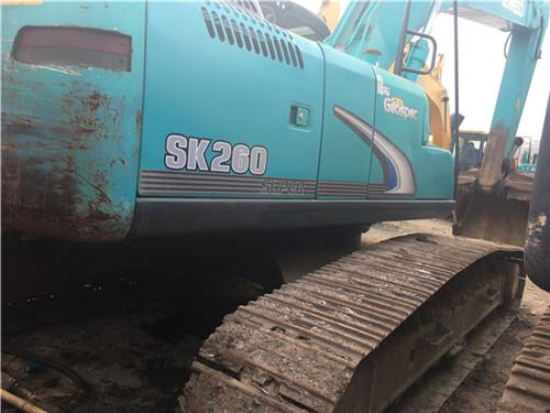 神钢SK260中型二手挖掘机转让图片