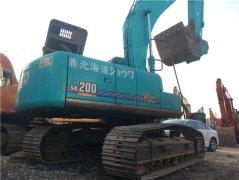 进口神钢SK200-10二手挖土机