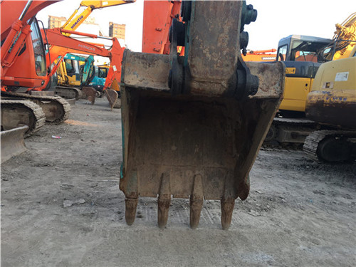 二手神钢SK135无尾小型挖掘机挖斗