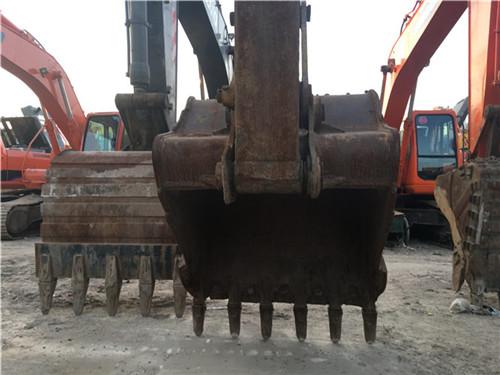 卡特323D个人二手挖掘机挖斗