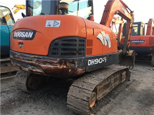 二手斗山DH60小型二手挖掘机图片