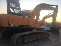 三一SY215二手挖土机