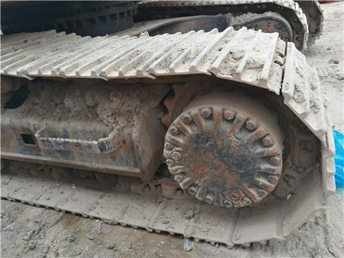 卡特320D二手挖掘机履带