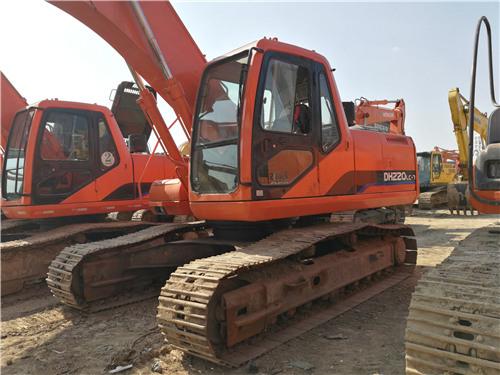 斗山220-7二手挖掘机出售信息图片