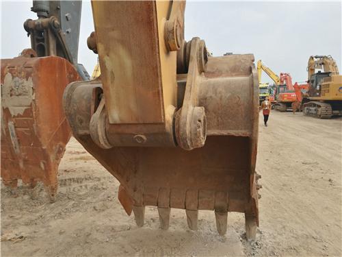 卡特326D二手挖掘机私人转让挖斗