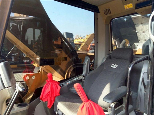 二手卡特336D挖掘机市场转让驾驶室