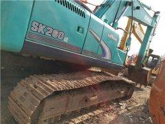 二手神钢SK260挖掘机