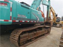二手神钢SK350挖掘机