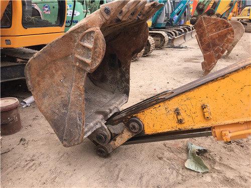 現代200-5二手挖掘機市場出售挖斗