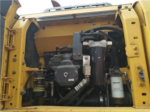 二手小松挖掘机205油电混合动力液压泵