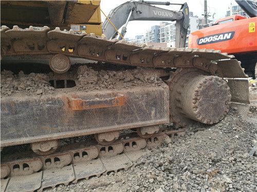 二手小松挖掘机205油电混合动力履带