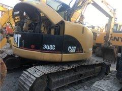 二手卡特308C挖掘机