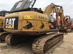 二手卡特323D挖掘機