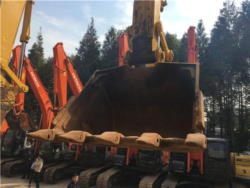 进口小松350挖掘机二手市场挖斗