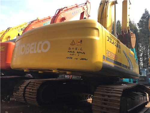进口二手神钢350挖掘机出售信息图片