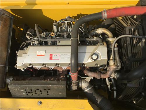 进口二手神钢350挖掘机出售信息发动机