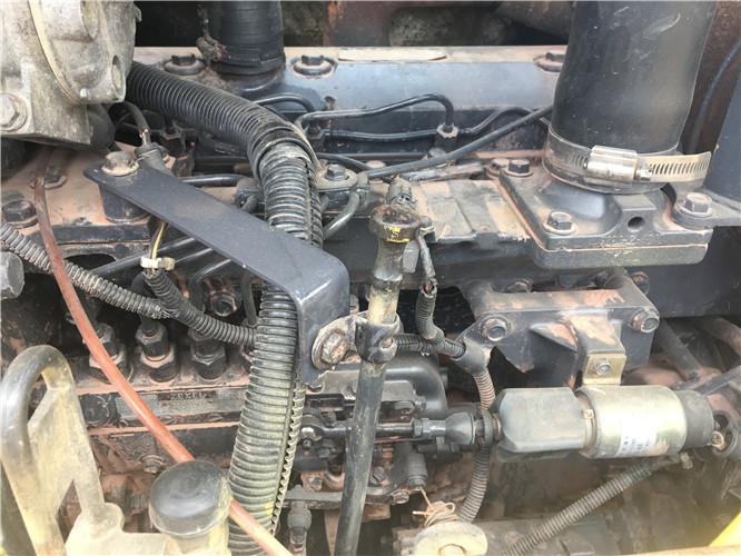 小松78US无尾二手小挖机出售发动机