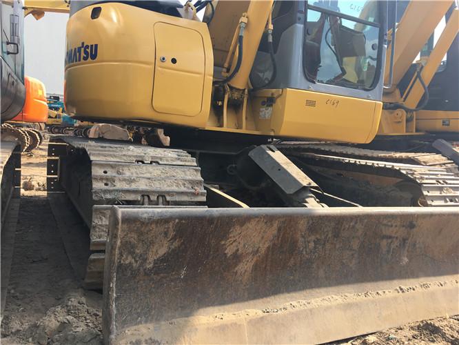 无尾小松78US私人二手挖机出售推土铲
