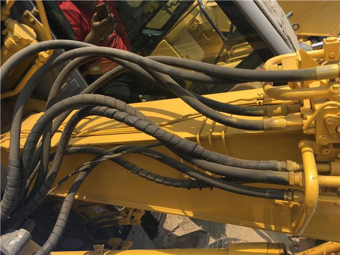 二手无尾小松PC128US挖掘机市场转让油管