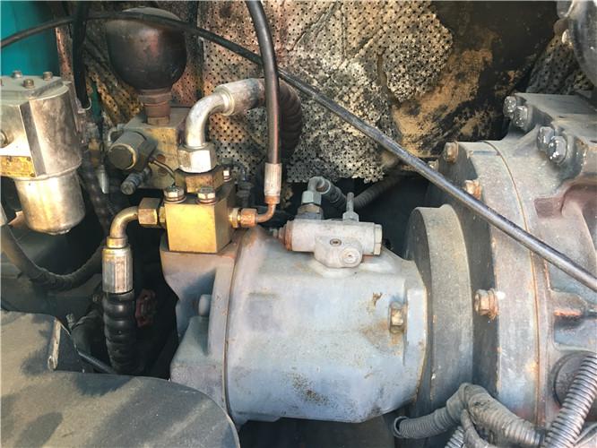 山河智能80N9国产二手挖掘机液压泵