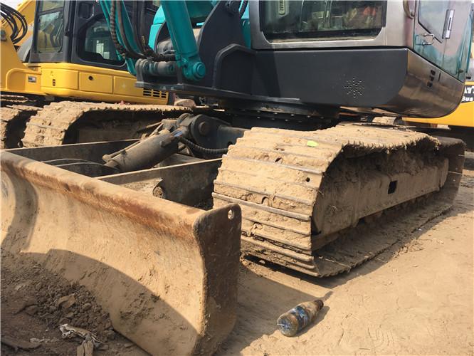 山河智能80N9国产二手挖掘机正面细节