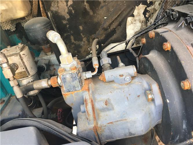 国产山河智能80E二手挖机出售液压泵