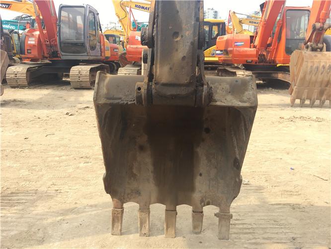三一SY75国产小型挖掘机转让挖斗