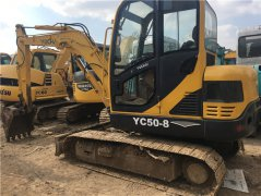 玉柴YC50-8二手挖掘机