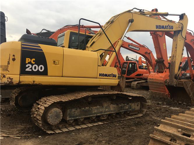 二手小松PC200-8挖掘机转让信息图片