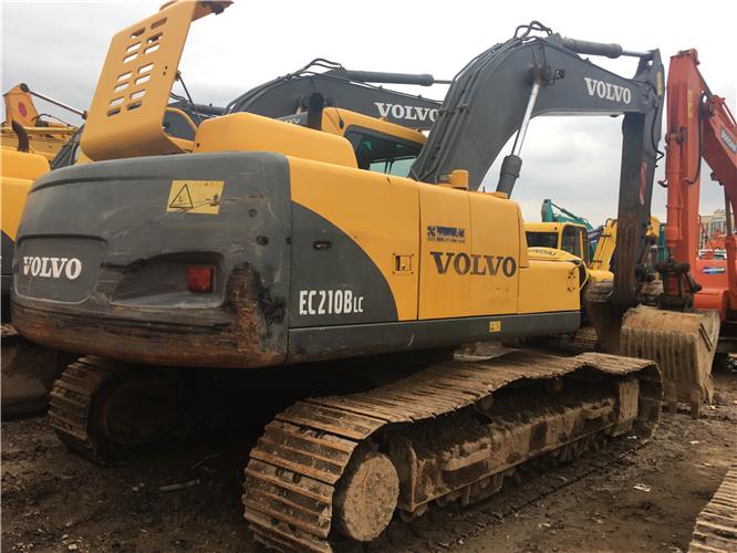 私人沃尔沃EC210BLC二手挖掘机出售图片