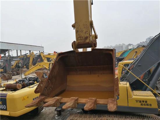 进口卡特325C二手挖掘机转让挖斗