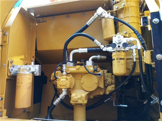 日立进口卡特320D二手挖掘机液压泵