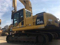 进口二手小松200-8N1挖掘机