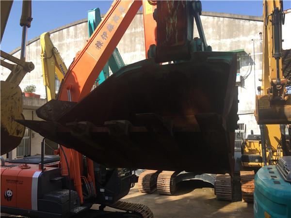 进口神钢SK210-12二手挖掘机出售挖斗