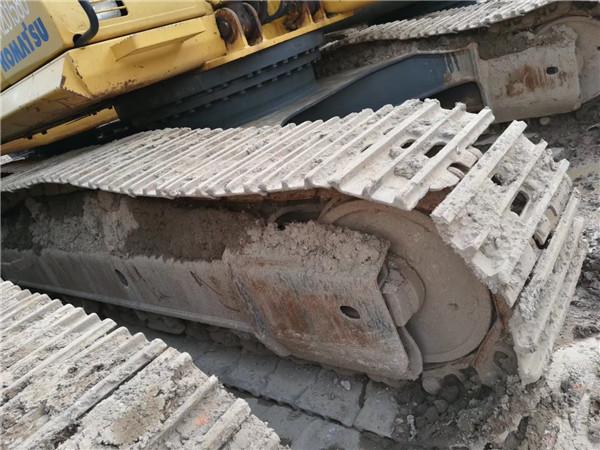 私人二手挖机小松PC270-7转让履带
